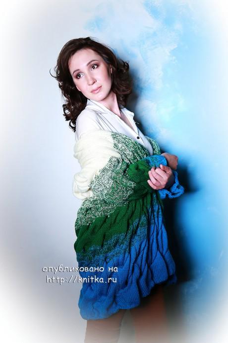 Кадиган Лало. Работа Лилии вязание и схемы вязания