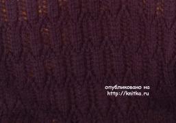 Комплект Дуэт. Работа Оксаны Усмановой вязание и схемы вязания