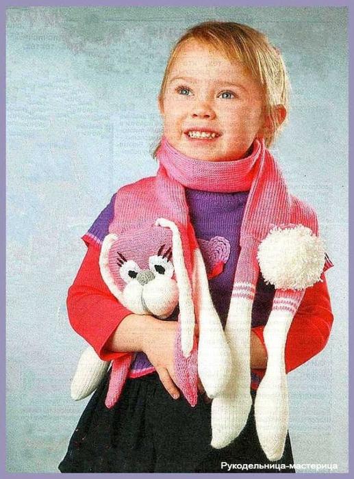пряжа для детского шарфа спицами