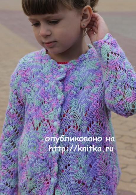 Детский комплект Радужный. Работа Светланы Шевченко вязание и схемы вязания