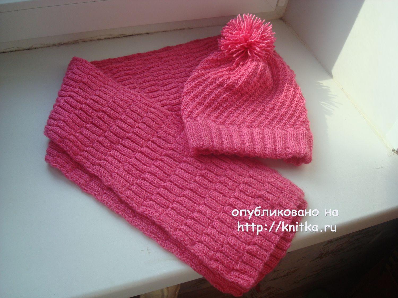 Схема вязания шарфа для детей фото 332