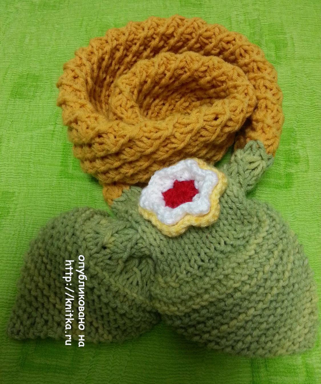 20 моделей детских шарфов спицами бесплатно с описанием ...