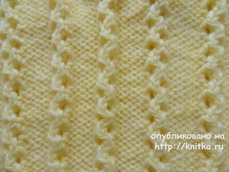 Детский пуловер спицами. Работа Светланы Шевченко вязание и схемы вязания