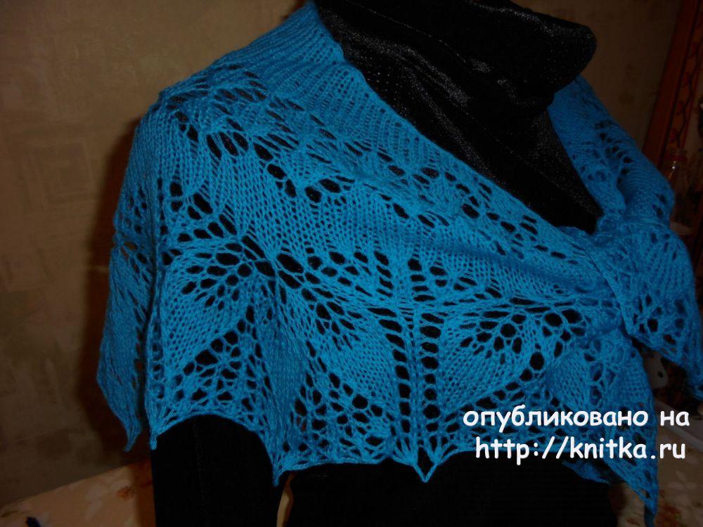 Вязаные спицами шали. Работы Светланы,  Вязание для женщин