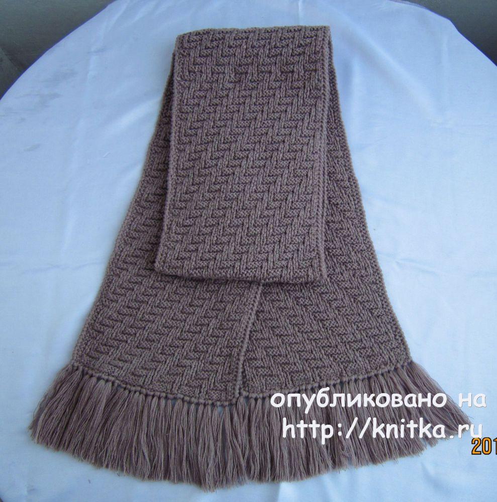 узор для шарфов спицами 35 схем и описаний вязания бесплатно