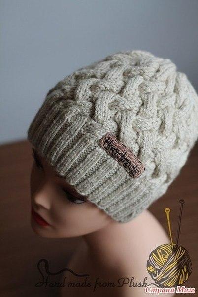 фото шапки спицами