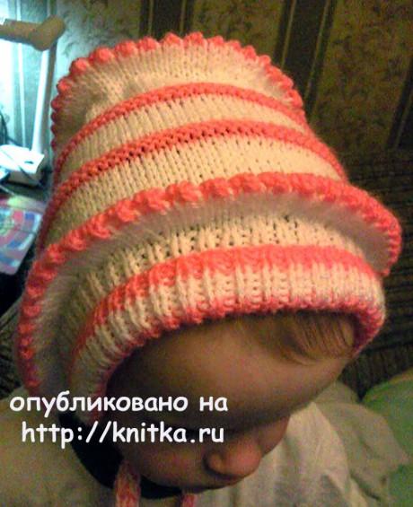 Детский костюм: шапка, штанишки и кофта спицами вязание и схемы вязания