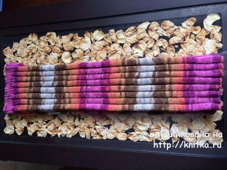 Вязаная спицами юбка. Работа Татьяны вязание и схемы вязания