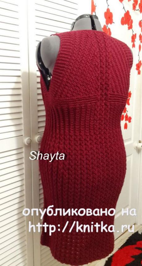 Пальто Сангрия с рукавами реглан от Shayta вязание и схемы вязания