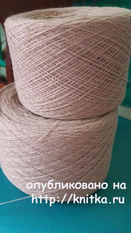 Туника спицами. Работа Оксаны вязание и схемы вязания