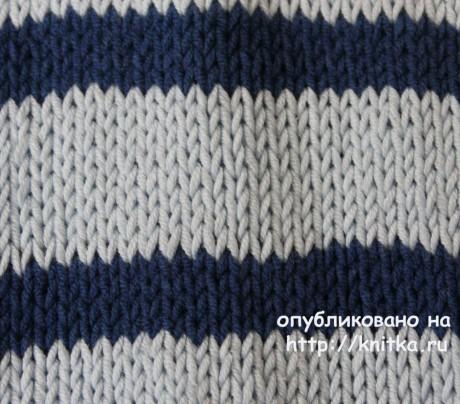 Женский джемпер спицами. Работа Веры Коваль вязание и схемы вязания