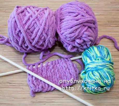 Пряжа для вязания с Алиэкспресс. Вязание спицами.