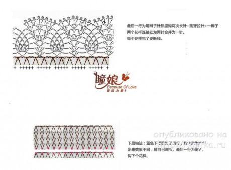 Женский комплект Брусничный. Шапка и снуд спицами вязание и схемы вязания