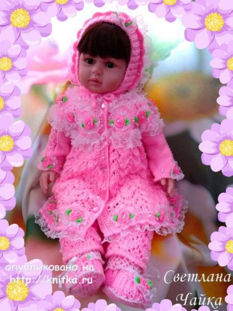 Комплект для девочки Маленькая Фея. Авторская работа Светланы Чайка вязание и схемы вязания