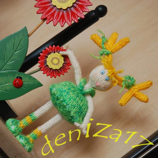 25 моделей кукол спицами с описанием и схемами вязания ...