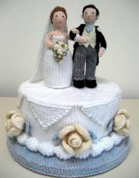 свадебный торт спицами