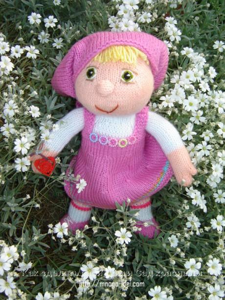 кукла маша спицами