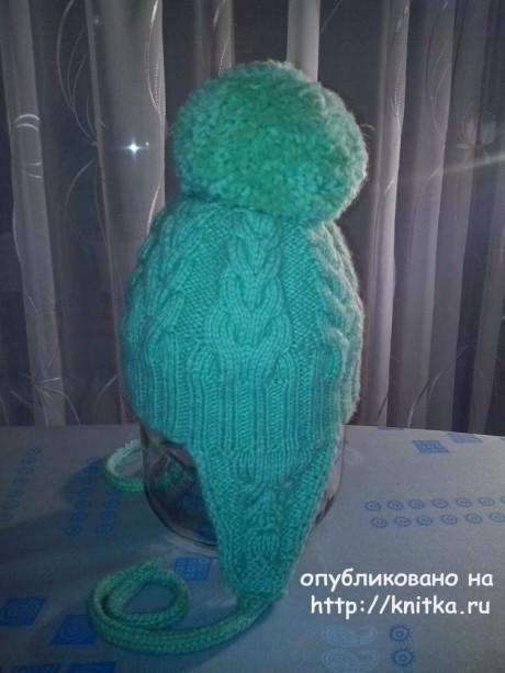 Детская шапка и снуд спицами. Работы Ивановой Светланы вязание и схемы вязания