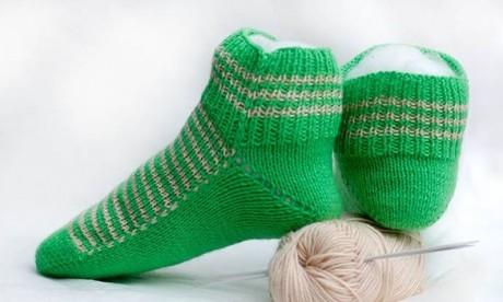 Женские носки, мастер класс для начинающих