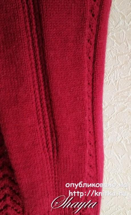 Джемпер Мойес от Shayta вязание и схемы вязания