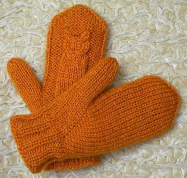 сова спицами 29 схем сов для шапки шарфа варежек и жилета