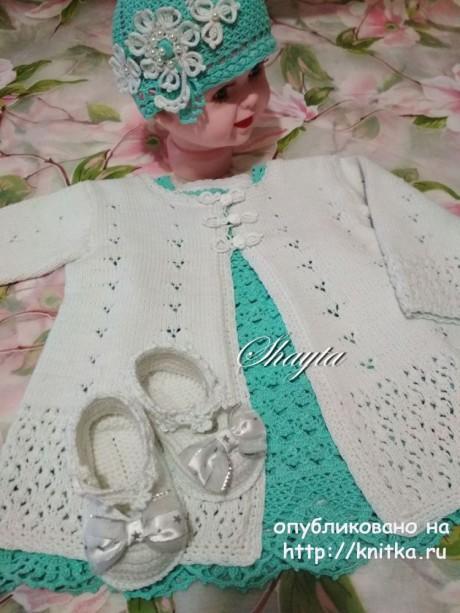 Летнее пальто из комплекта ДжоДжо от Shayta. Вязание спицами.