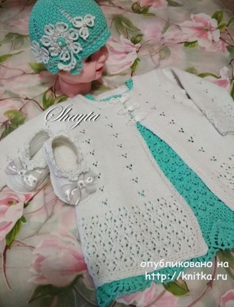 Летнее пальто из комплекта ДжоДжо от Shayta вязание и схемы вязания