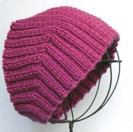 Зимняя повязка на голову спицами