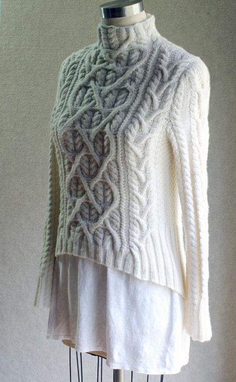 Влюбленный Шекспир, женский свитер спицами