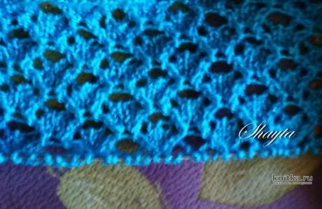 Кардиган Сеунн (Любящая море) от Shayta. Работа Оксаны Усмановой вязание и схемы вязания
