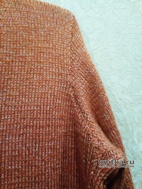 Женский костюм спицами. Работа Татьяны Ивановны вязание и схемы вязания