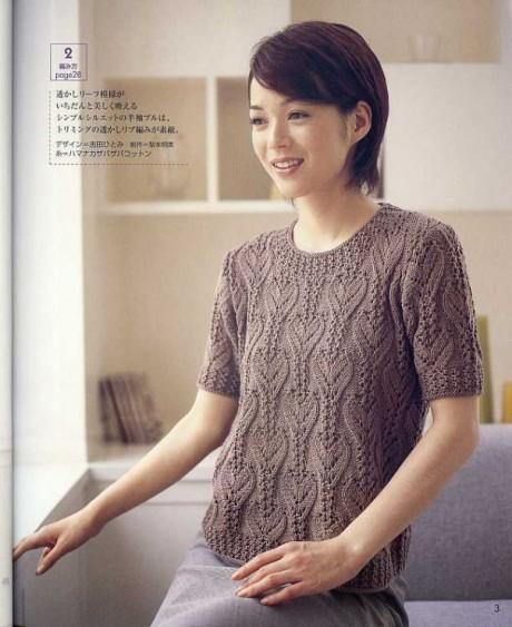 Подходящий узор из сердечек для свитера: