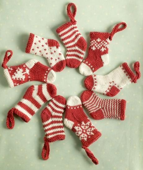 Рождественские носочки на ёлку