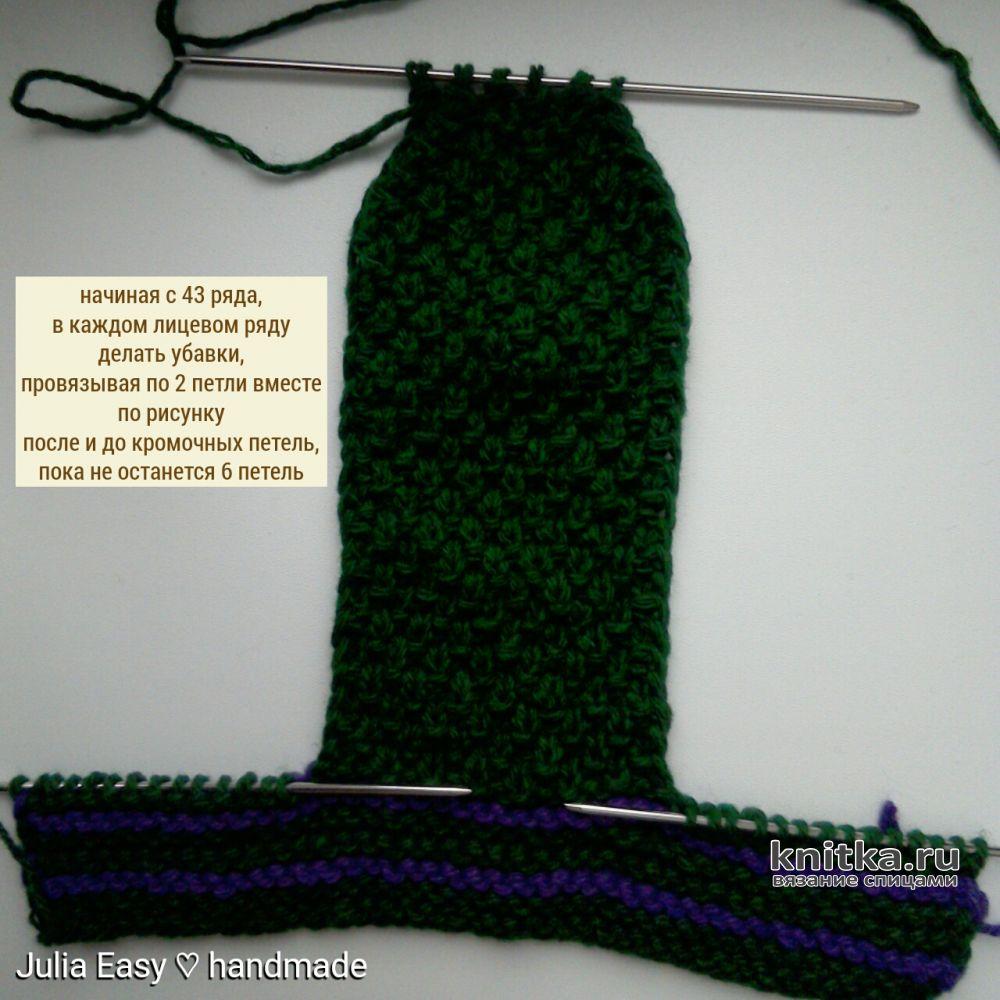 мужские носки спицами больше 20 моделей с описанием и схемами