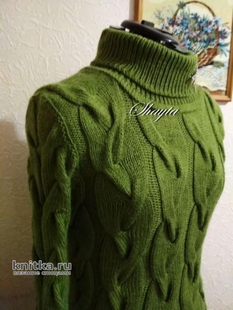 Платье Айви от Shayta. Работа Оксаны Усмановой вязание и схемы вязания