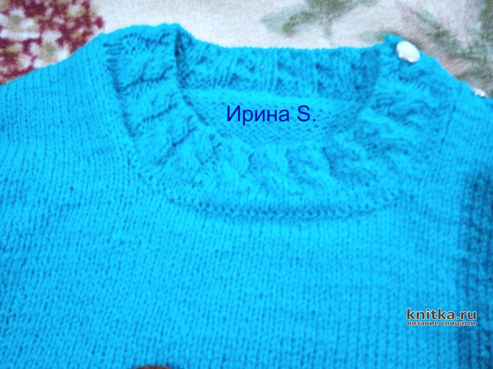 Жилетка для малыша спицами схема фото 322