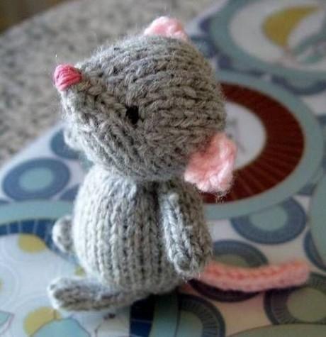 Мышь Марисоль спицами