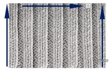 Комплект Шоколад: шапка и шарф спицами. Работа Валерии вязание и схемы вязания