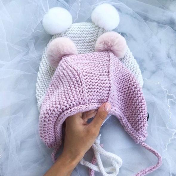 шапочка чепчик для малыша 3 мес описание и видео урок по вязанию