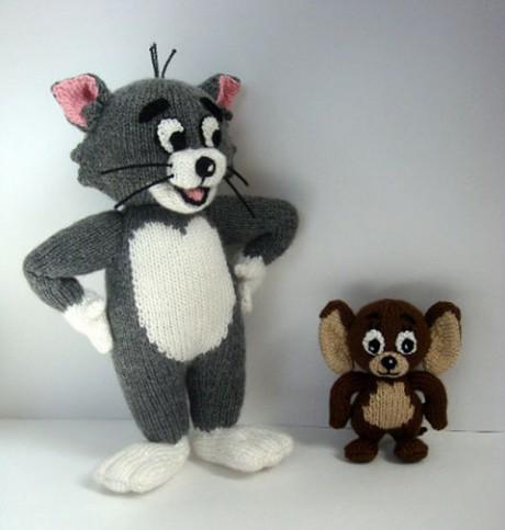 Том и Джерри спицами