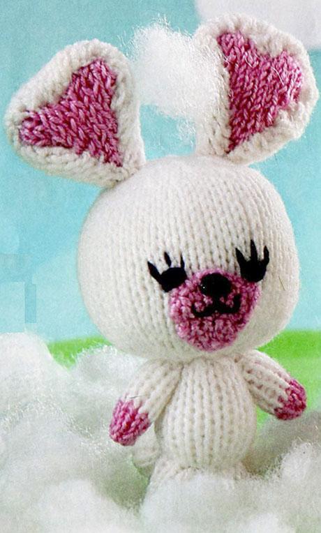 Заяц спицами, 22 схемы и описание вязания игрушек ...
