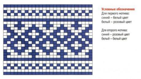 Описание и схемы вязания конверта для новорожденного
