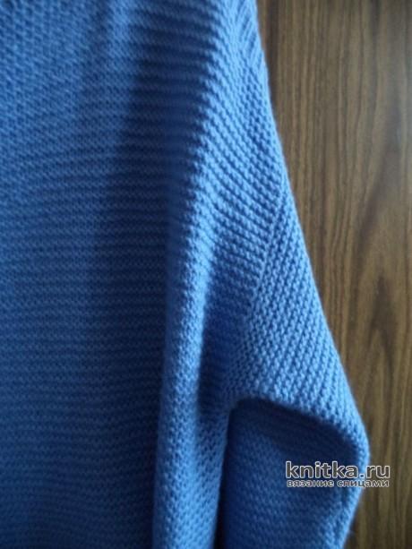 Туника с шарфом. Работа Анны вязание и схемы вязания
