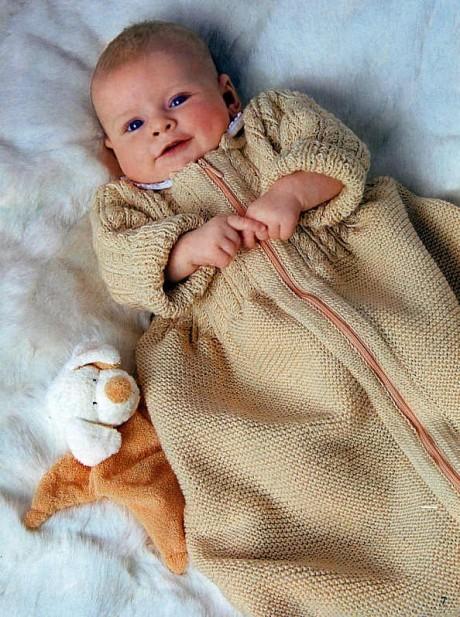 Спальный мешок для новорожденного малыша