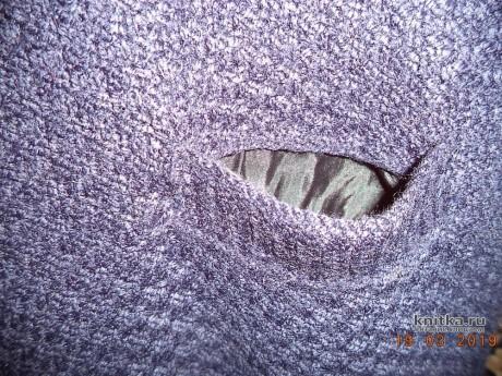 Женская безрукавка спицами. Работа Анны вязание и схемы вязания