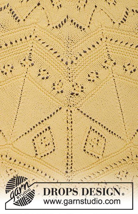 Схемы вязания шали Spring Splendor