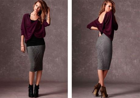 Он-лайн вязание и схемы юбочки от Victoria 's Secret