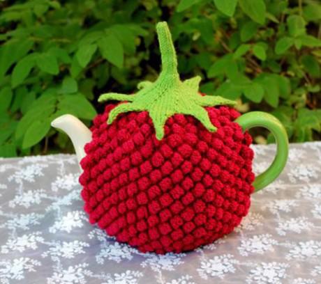 Грелка для чайника, вязание для дома