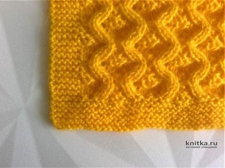 Описание детского пледа от Галмика вязание и схемы вязания