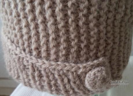 Шапка бини и снуд. Работы Анны вязание и схемы вязания